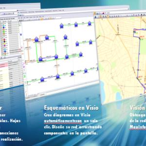 """Sistema de Gestión para diseño de redes FTTH """"Connect Master""""-177"""
