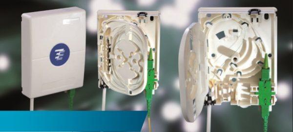 Roseta De Abonado F.O. Con 2 Adaptadores Sc/Upc Ref HFTP-NO-S102-E-128