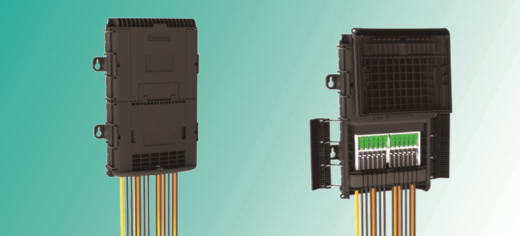 Caja De Distribucion Aerea De 12 Con Adap. Sc/Apc Ref OFDC-C12-S2/TON-125