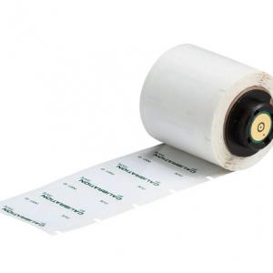"Etiquetas Poliester Metalizado 250/roll 1.5""X0.75"" Ref. PTL-30-435-257"
