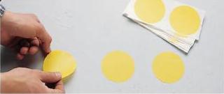 Puntos de Vynil para marcación de pacillos Ref 121133-237