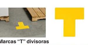Etiquetas de Vynil para marcación de piso enT Ref 104439-241