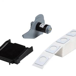"""Etiquetas Raised Polyester Adhesivo 1.2X1.5 """" Blanco 100 u/rollo Ref M71EP-167-593-325"""