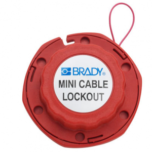 Mini Cable LOCKOUT W/METAL Ref 50940-392