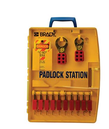 Estación adlock w / 10 candados de seguridad Ref. 105930-376